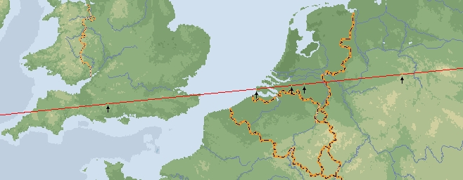 Zeeland Holland Karte.Strong Leylines
